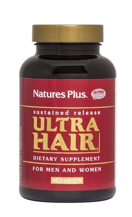 Nature's Plus - Ultra Hair Sustained Release - 90 Tablets