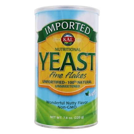 DROPPED: Kal - Imported Yeast Fine Flakes Non-GMO 454 g. - 16 oz. CLEARANCE PRICED