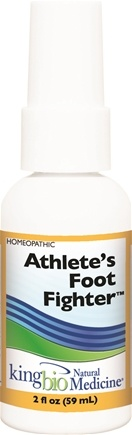 DROPPED: King Bio - Homeopathic Natural Medicine Athlete's Foot Fighter - 2 oz. CLEARANCE PRICED