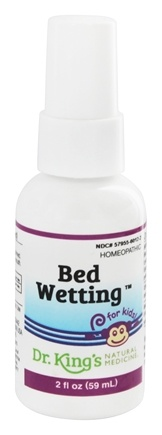 King Bio - Homeopathic Natural Medicine Bed Wetting Prevention - 2 oz.