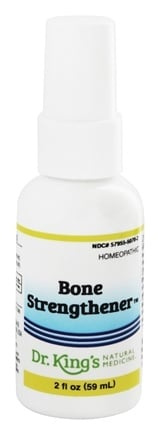 King Bio - Homeopathic Natural Medicine Bone Strengthener - 2 oz.