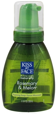 DROPPED: Kiss My Face - Liquid Soap Self Foaming Rosemary & Melon - 8.75 oz.