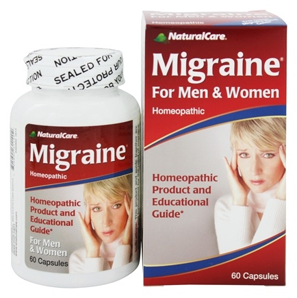 DROPPED: NaturalCare - Migraine Relief for Men and Women - 60 Capsules