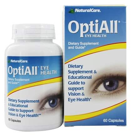 NaturalCare - OptiAll Eye Health - 60 Capsules