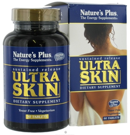 DROPPED: Nature's Plus - Ultra Skin Sustained Release - 90 Tablets