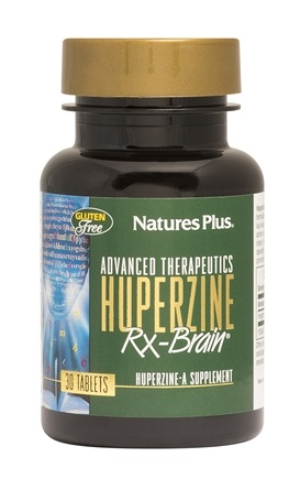 Nature's Plus - Advanced Therapeutics Huperzine RX Brain - 30 Tablets