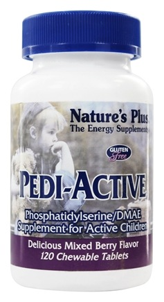 Nature's Plus - Pedi-Active - 120 Chewable Tablets