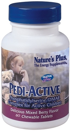 DROPPED: Nature's Plus - Pedi-Active - 60 Chewable Tablets CLEARANCE PRICED