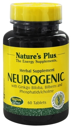 DROPPED: Nature's Plus - NeuroGenic Herbal Supplement - 60 Tablets
