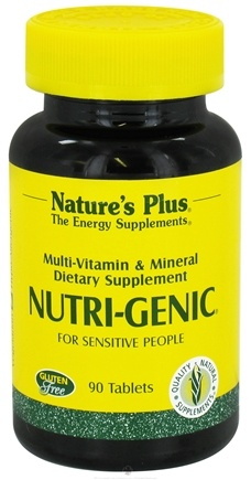 DROPPED: Nature's Plus - Nutri-Genic - 90 Tablets CLEARANCE PRICED