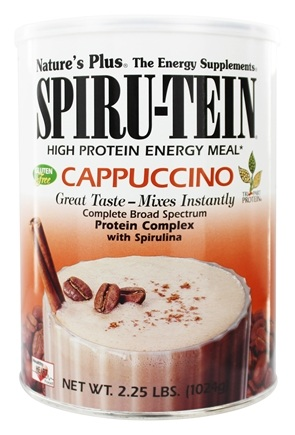 Nature's Plus - Spiru-Tein High Protein Energy Meal Cappuccino - 2.25 lbs.