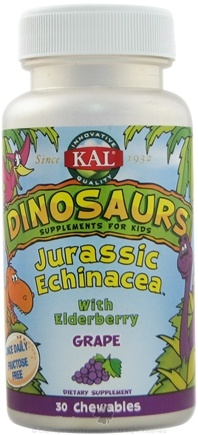 DROPPED: Kal - Jurassic Echinacea - 30 Chewable Tablets
