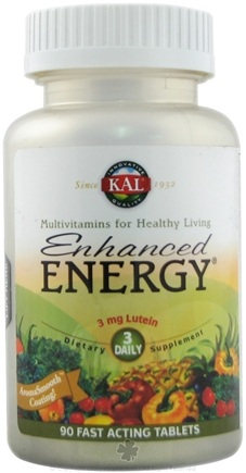 DROPPED: Kal - Kal Enhanced Energy With Lutein - 90 Tablets