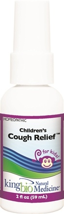 DROPPED: King Bio - Homeopathic Natural Medicine Children's Cough - 2 oz.