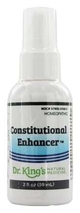 King Bio - Homeopathic Natural Medicine Constitutional Enhancer - 2 oz.