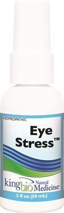 DROPPED: King Bio - Homeopathic Natural Medicine Eye Stress - 2 oz. CLEARANCE PRICED