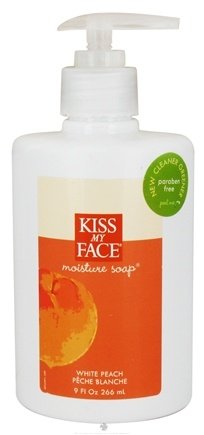 DROPPED: Kiss My Face - Liquid Moisture Soap Peach - 9 oz.