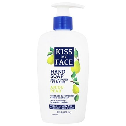 Kiss My Face - Liquid Moisture Hand Soap Pear - 9 oz.