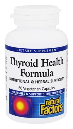 Natural Factors - Dr. Murray's Thyroid Health Formula - 60 Capsules