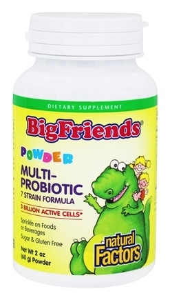 DROPPED: Natural Factors - Dr. Murray's Ultimate Probiotic Children's Formula - 2 oz. CLEARANCE PRICED
