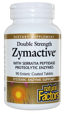 Natural Factors - Dr. Murray's Zymactive Double Strength Proteolytic Enzymes - 90 Tablets