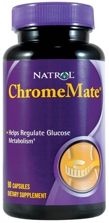 DROPPED: Natrol - ChromeMate Patented Chromium 200 mcg. - 90 Capsules CLEARANCE PRICED