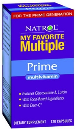 DROPPED: Natrol - My Favorite Multiple Prime - 120 Capsules CLEARANCE PRICED