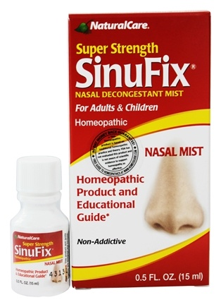 NaturalCare - SinuFix Super Strength Nasal Mist - 0.5 oz.