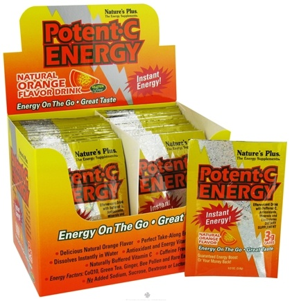 DROPPED: Nature's Plus - Potent C Energy Orange - 30 Pack(s)