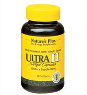 DROPPED: Nature's Plus - Ultra II Multi Nutrient Softgels - 180 Softgels