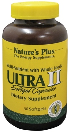 DROPPED: Nature's Plus - Ultra II Multi Nutrient - 90 Softgels