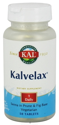 DROPPED: Kal - Kalvelax Herbal Laxative - 50 Tablets