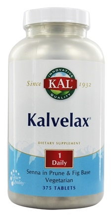 Kal - Kalvelax Herbal Laxative - 375 Tablets