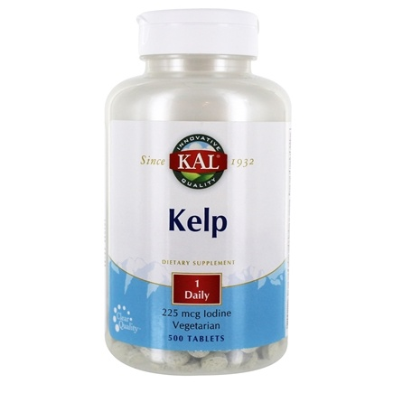 Kal - Kelp With 225 mcg. Iodine - 500 Tablets
