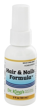 King Bio - Homeopathic Natural Medicine Hair & Nails Formula - 2 oz.
