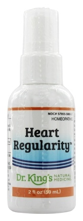 King Bio - Homeopathic Natural Medicine Heart Regularity - 2 oz.
