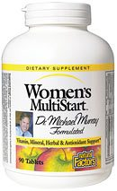DROPPED: Natural Factors - Dr. Murray's MultiStart Women's Multivitamin & Mineral Formula - 90 Tablets