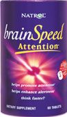 DROPPED: Natrol - BrainSpeed Attention