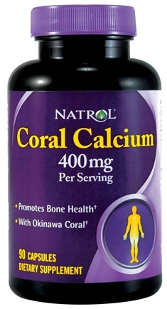 DROPPED: Natrol - Coral Calcium - 90 Capsules CLEARANCE PRICED