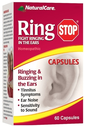 NaturalCare - Ring Stop Homeopathic - 60 Capsules
