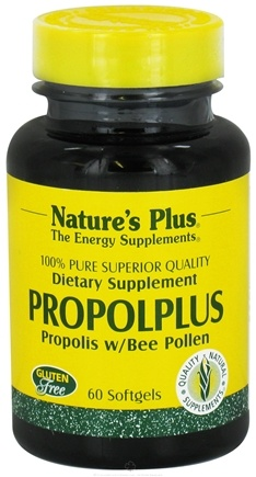 DROPPED: Nature's Plus - PropolPlus 200 mg. - 60 Softgels CLEARANCE PRICED