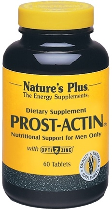 DROPPED: Nature's Plus - Prost-Actin Nutritional Support for Men - 60 Tablets CLEARANCE PRICED