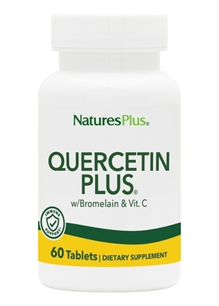 Nature's Plus - Quercetin Plus with Vitamin C & Bromelain - 60 Tablet(s)