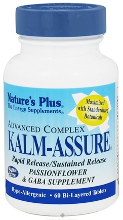 DROPPED: Nature's Plus - Kalm-Assure - 60 Tablets CLEARANCE PRICED