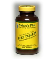 DROPPED: Nature's Plus - Kelp Tablets - 300 Tablets