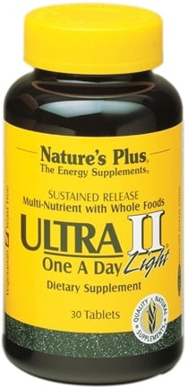 DROPPED: Nature's Plus - Ultra II One-a-Day Multi Nutrient Light Sustained Release - 30 Tablets