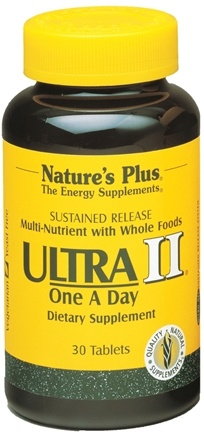 DROPPED: Nature's Plus - Ultra II One-a-Day Multi Nutrient Sustained Release - 30 Tablets
