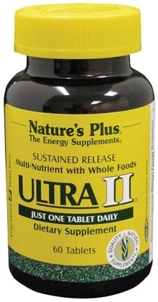 DROPPED: Nature's Plus - Ultra II Sustanined Release - 60 Tablets