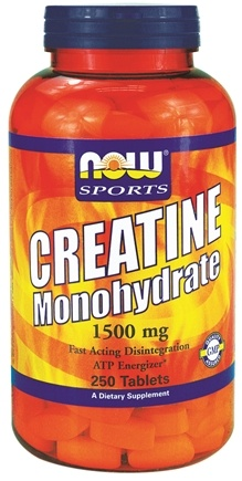 DROPPED: NOW Foods - Creatine Monohydrate 1500 mg. - 250 Tablets