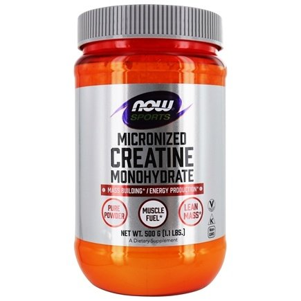 NOW Foods - Micronized Creatine Mononhydrate 100% Pure Powder - 1.1 lbs.